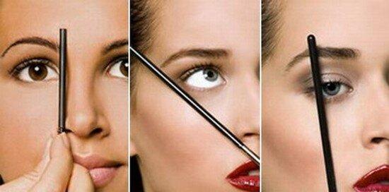 Наглядное определение «точек» на лице