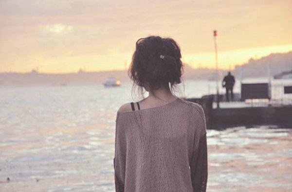 Мечты о море на фоне заката