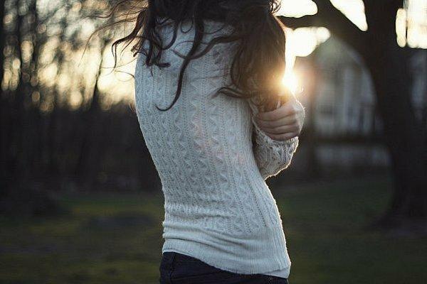 Мне холодно, совсем одна…