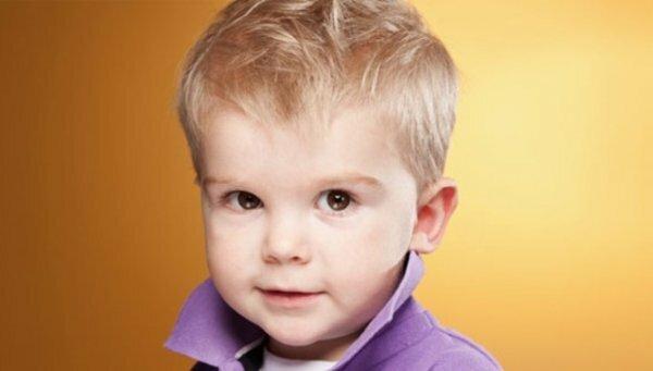 Классическая стрижка для мальчика 2 лет