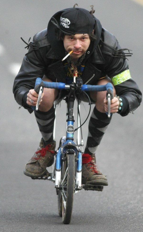 Кажется, я не тот велосипед взял…