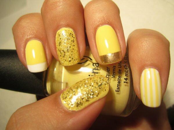 Яркие «Лимонные полоски»