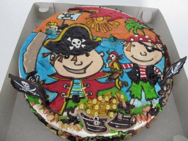 «Веселые пираты» для маленькой разбойницы