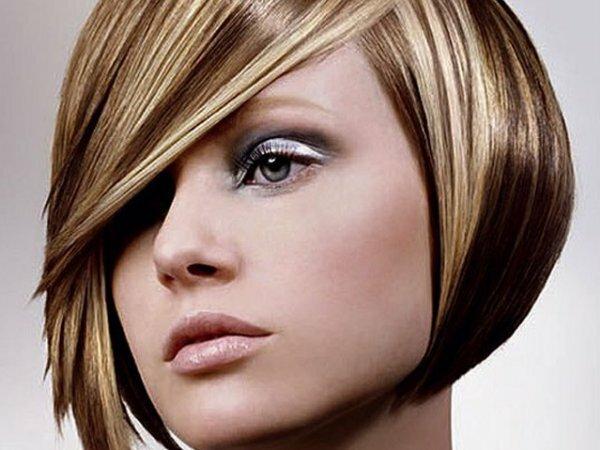 «Акварельное» брондирование на темные волосы