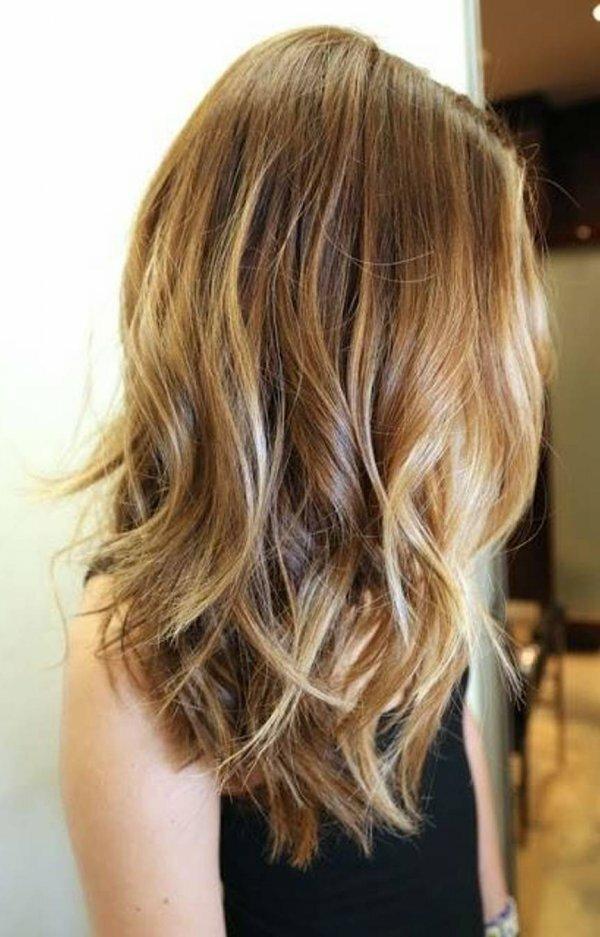 «Жемчужное» брондирование + светло-русые волосы