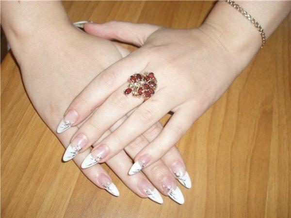 Белый френч «Цветение сакуры»