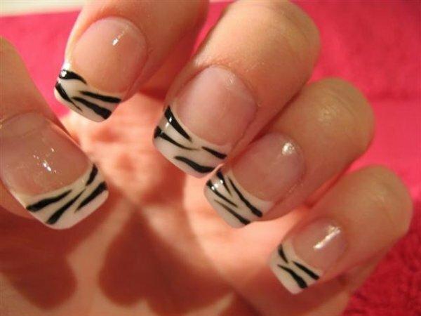 Контрастные «полоски зебры»