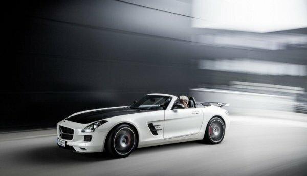 Вечная классика Mercedes SLS AMG Final Edition