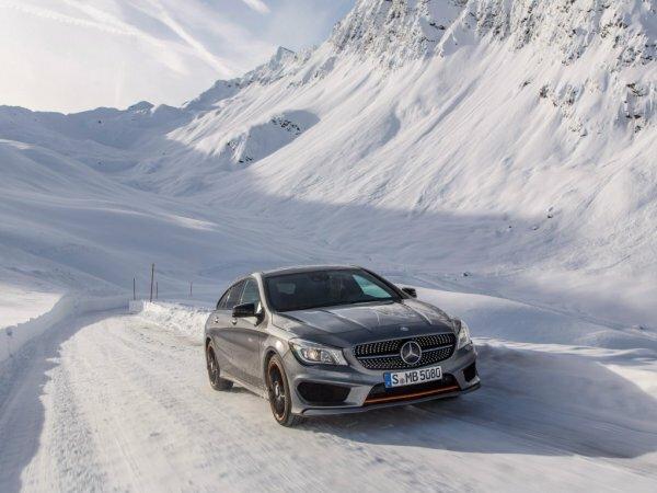 Стильный Mercedes-Benz