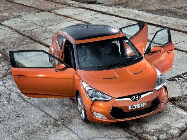 Яркий и эффектный Hyundai Veloster
