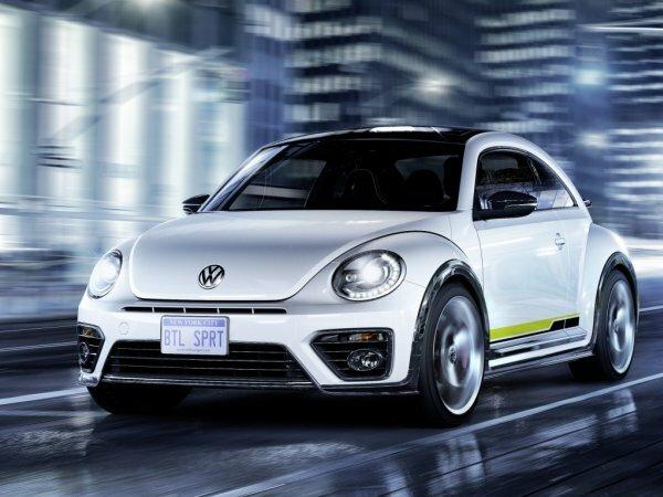 Концептуальный Volkswagen Beetle R-Line