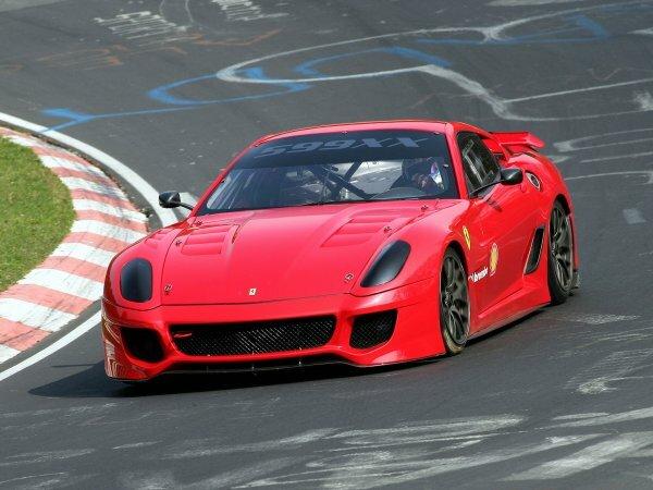 Необыкновенный Ferrari 599XX