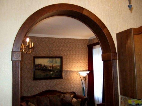 Широкая классическая арка