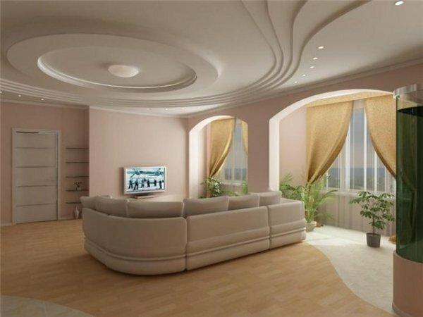 Зал с арками «модерн»