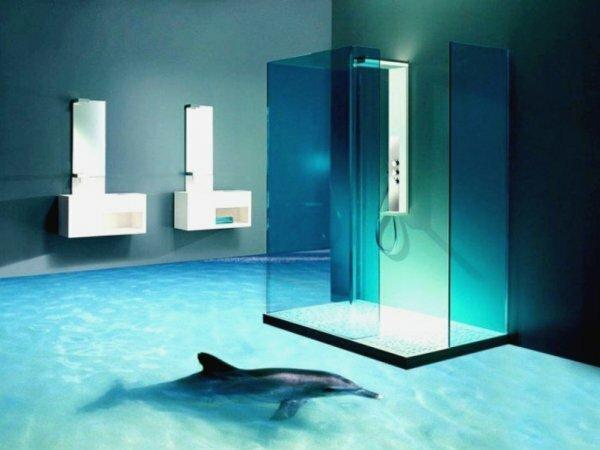 Кроме того, немаловажной представляется и эстетическая составляющая наливного 3Д-пола – собственно трехмерное изображение