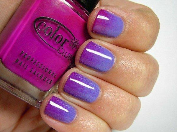 Сине-фиолетовая горизонталь