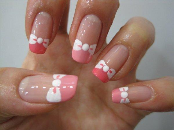 Милые розовые «Бантики»