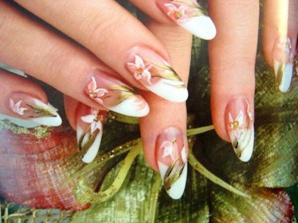 Романтичный «Цветок орхидеи»