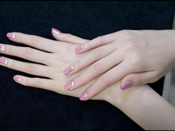 Розовый и серебро