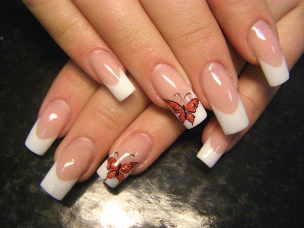 Белый френч «Бабочка»