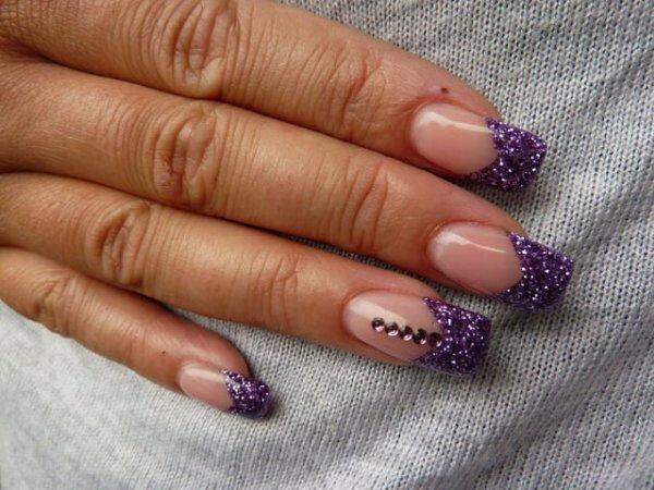 Фиолетовый френч «Стрелы»