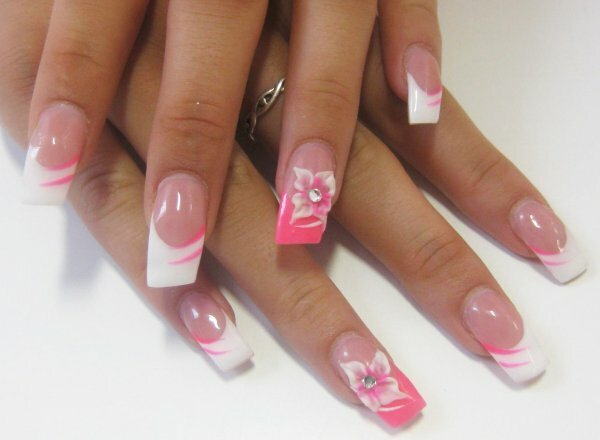 Белый френч «Розовая дымка»