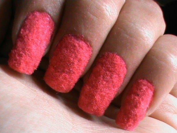 Розовый «пудровый» дизайн