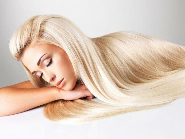 Частое солнечное мелирование на светлые волосы