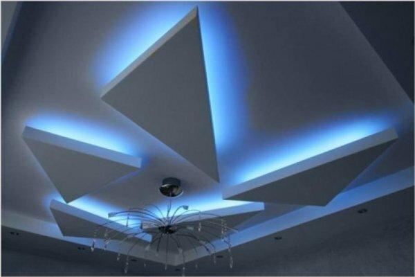Для тех, кому нравятся геометрические фигуры – треугольники со светодиодной подсветкой