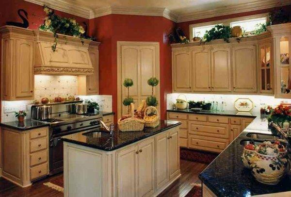 Кухня-студия для любителей стиля ретро