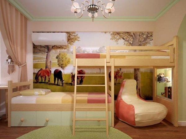 Если негде поставить кровать для ребенка – делаем второй этаж