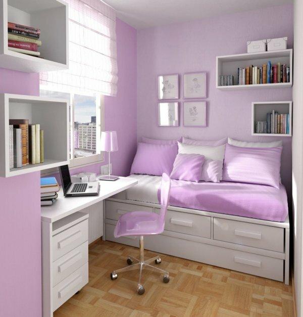 Когда помещение не позволяет устанавливать шкаф или комод хорошо подойдет кровать-комод с несколькими ящиками