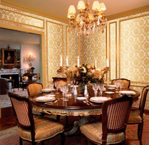 С таким стилем ваша гостиная всегда будет выглядеть богато