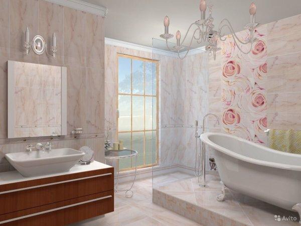 Панели ПВХ для ванных могут быть не только разных расцветок, но и с разнообразными рисунками