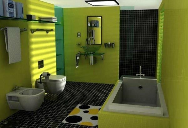 Идеальный выбор для тех, кто любит яркую жизнь даже в ванной