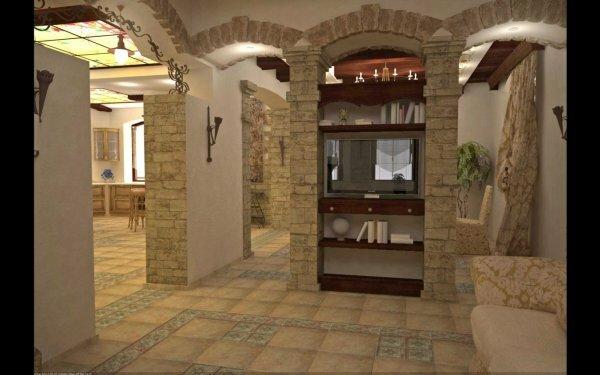 После окончания монтажных работ гипсокартонные арки можно декорировать любым выбранным материалом
