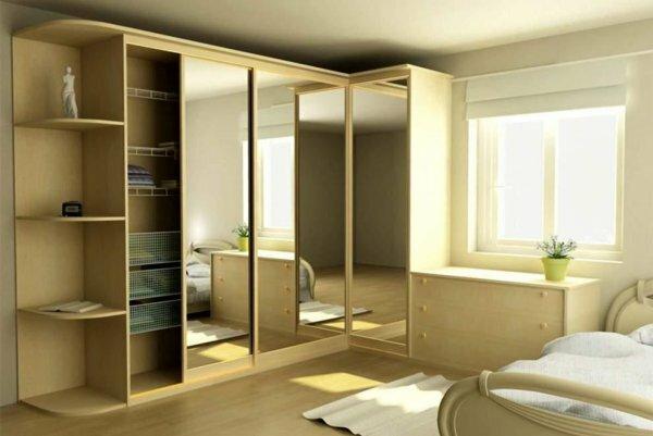Если комната выдержана в светлых тонах, то и мебель стоит выбирать соответствующую