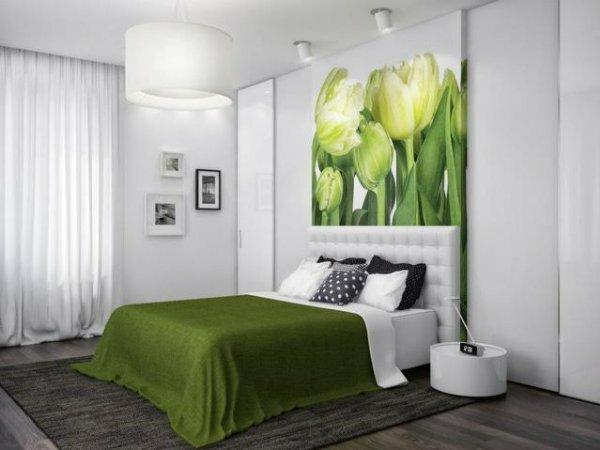 Весенняя спальня «Белые тюльпаны»