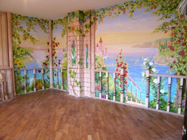 3D-панорама «Замок у моря»