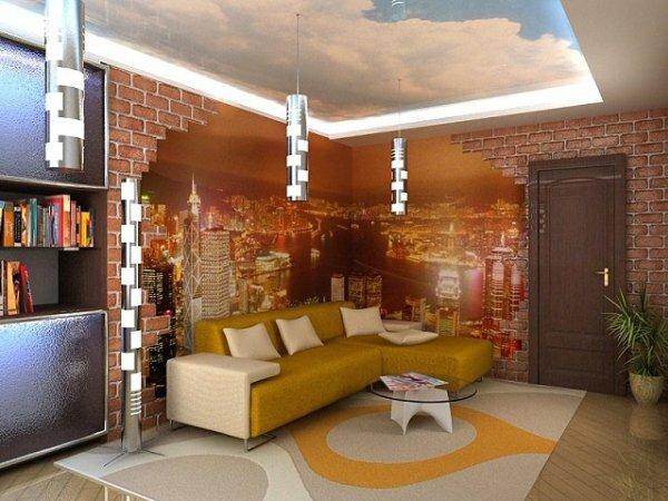 3D «Огни ночного города»