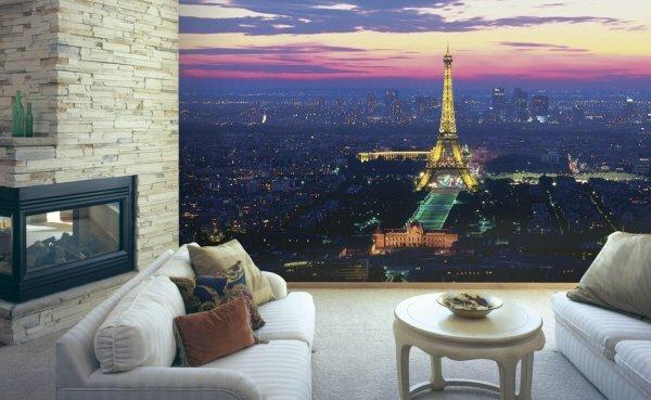 3D «Огни ночного Парижа»