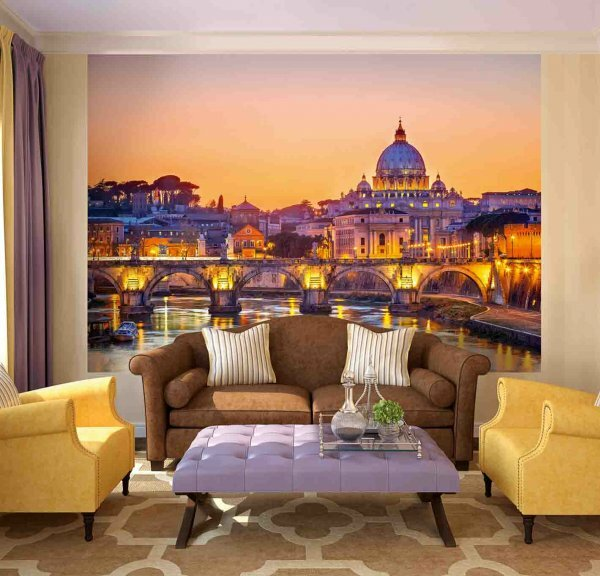 Элегантные «Огни ночного Рима»