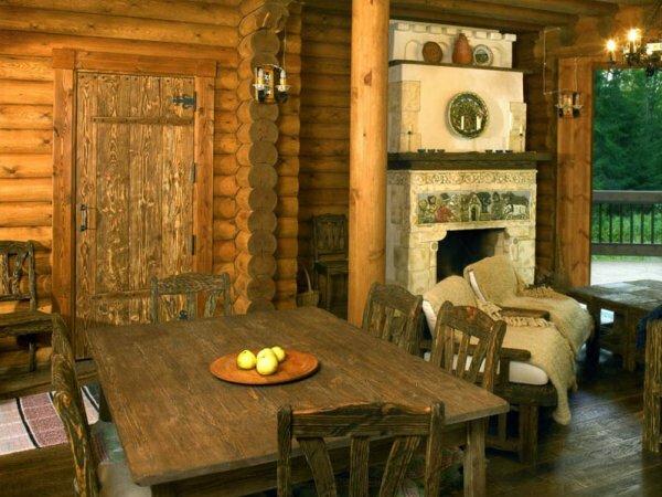 Уютная столовая-гостиная