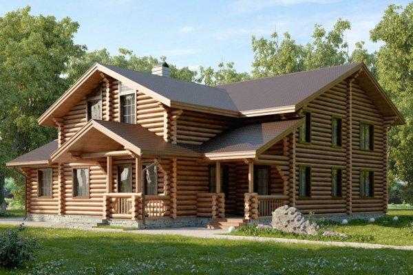 Дом с множеством просторных комнат для большой семьи