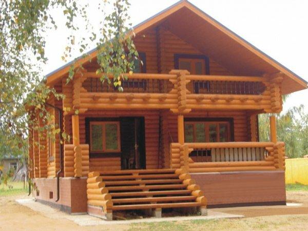 Такие дома очень теплые и не требуют больших затрат на их обогрев